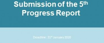 Submission of the 5th Progress Report