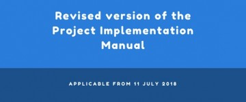Revised version of the Project Implementation Manual